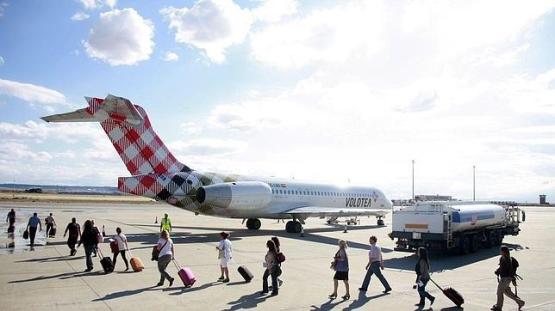 viajeros avion
