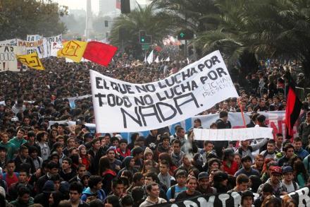 protesta CHILE