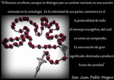 el rosario papa