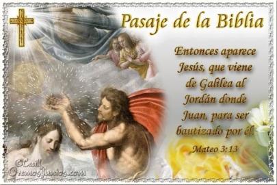 EVANG BAUTISMO DE JESUS
