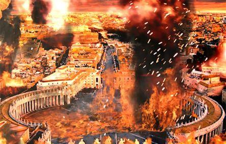 destruccion del vaticano igual al Templo de jerusalen