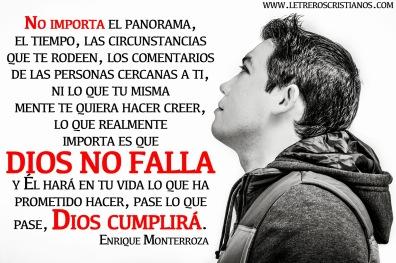 Dios no falla