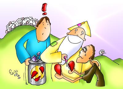 el padre acoge la oveja perdida (1)