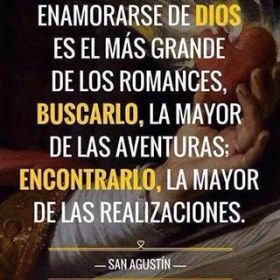 enamorarse de Dios