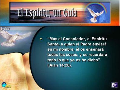 espiritu santo paráclito y maestro
