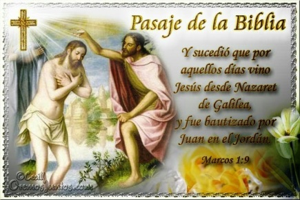 evang bautismo