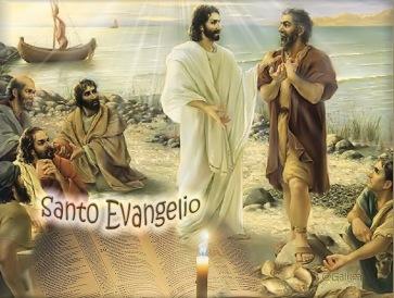 Evangelio. Jesús llama a Simón y Andres