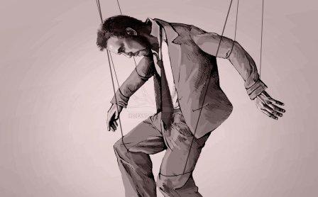 marioneta hombre-como-titere