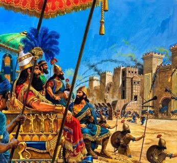Nabucodonosor destruye jerusalen