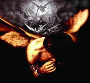 hombre encadenado satan nephilim