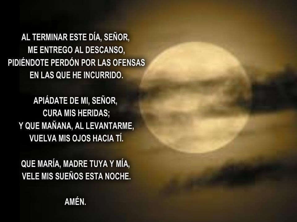 oracion nocturna