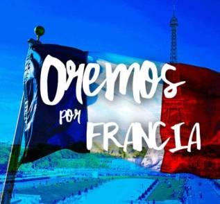 oremos por francia
