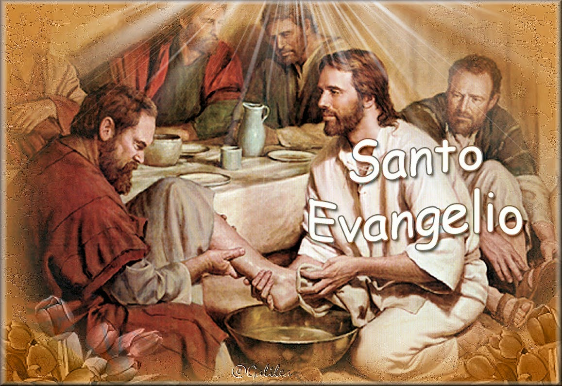 Santo Evangelio Lavatorio
