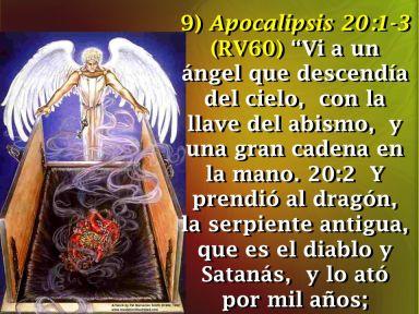 APOCALIPSIS SATANÁS ENCADENADO