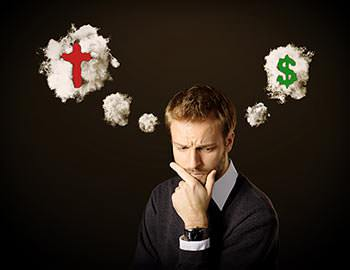 tentacion decision dios-o-el-dinero