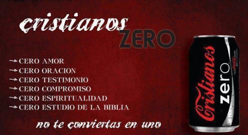 tibieza Cristianos Zero