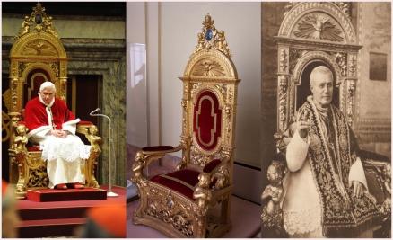 trono papal