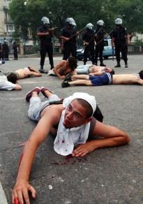 argentina violencia represion
