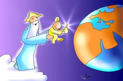 padre hijo mundo
