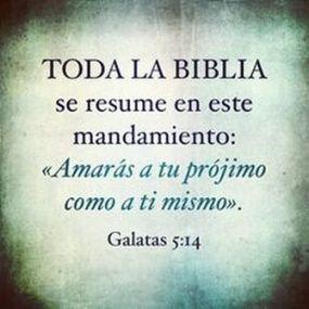 mandamiento, biblia amor