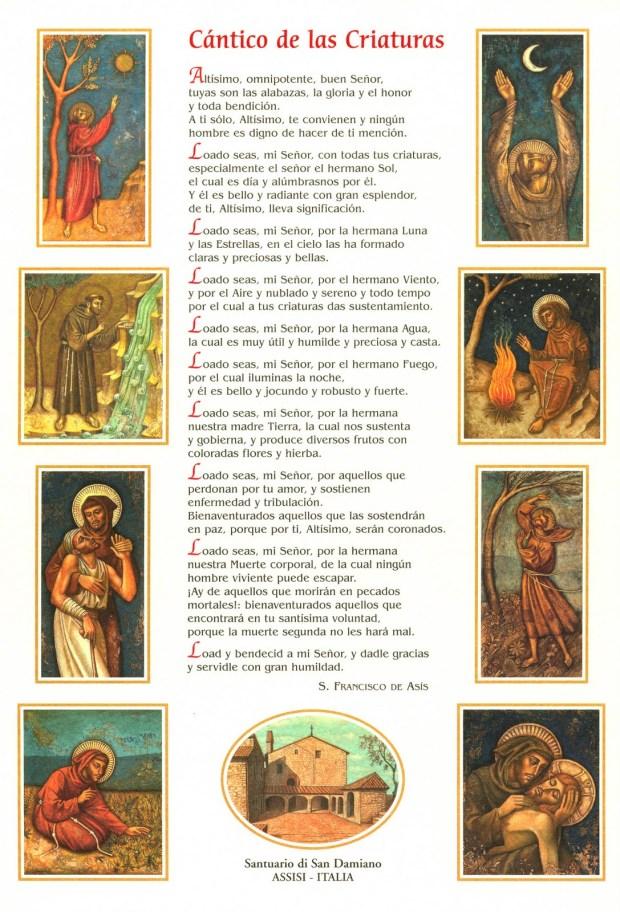 cántico de san francisco