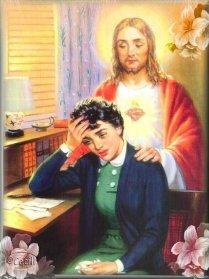 entregando a dios orando