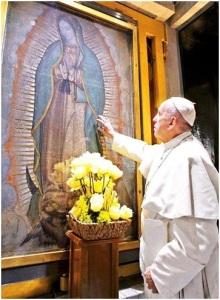 Oración-Papa-Francisco-a-la-virgen-de-Guadalupe-en-México