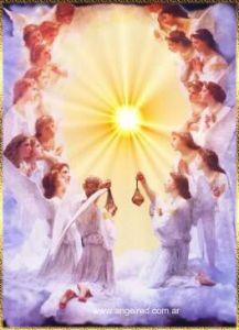 angeles-adorando a dios