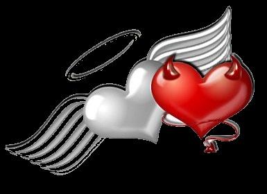 bien y mal en el corazón