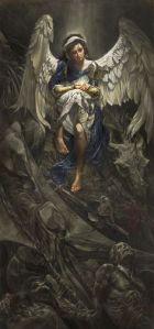 angel purgatorio almas