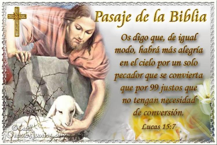 cielo conversion pecadores
