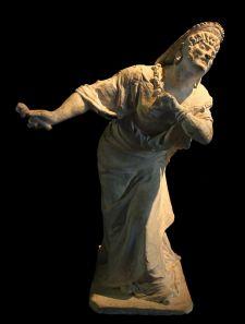 neron artista vestido de mujer en el teatro-emilio_gallori_-_nero_dressed_as_a_woman_-_curia_iulia