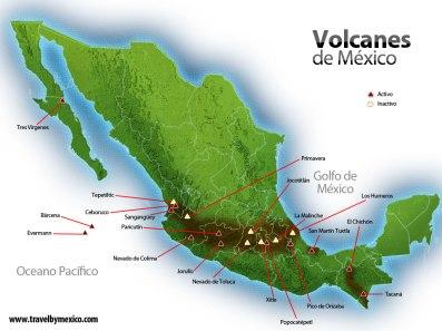 méxico republica-volcanes