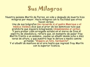 OBEDIENCIA CARISMAS san-martn-de-porres-MILAGROS3-728-2