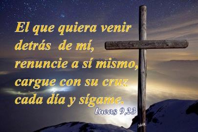 renuncia seguir cruz