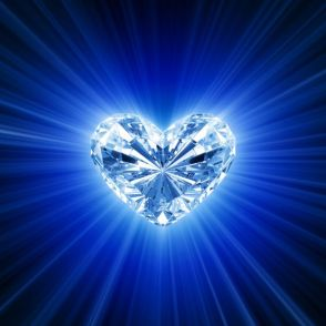 diamante de corazon