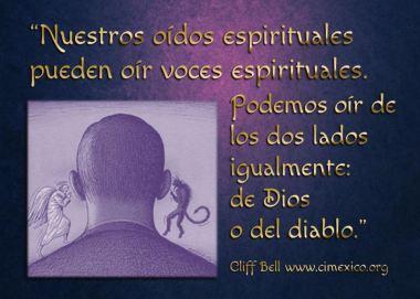 oido espiritual voces