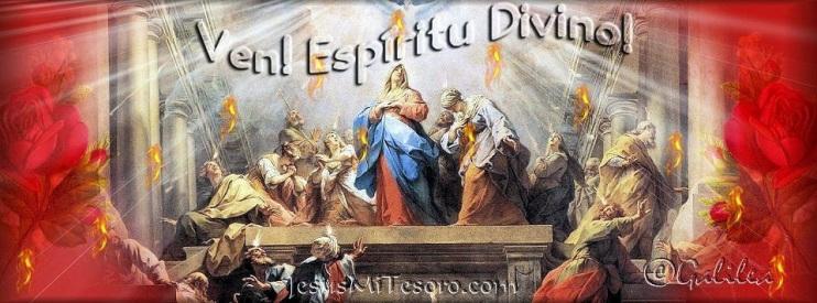 ven espiritu santo banner