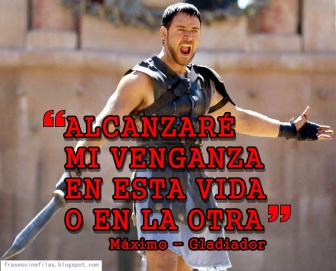 venganza gladiador