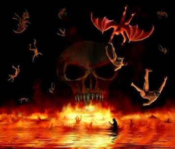 infierno segunda muerte