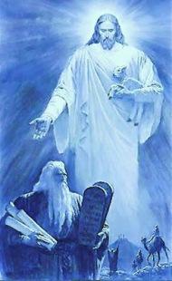 padre jesus-moises-mandamientos-moises-deuteronomio-cristo-jesus-jesucristo-moses-christ1