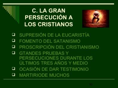 PERSECUCION ANTICRISTO