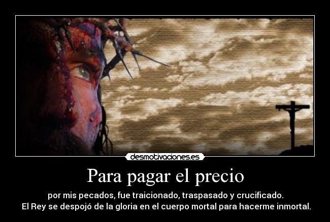 agonia mirada pasion a redencion-pecados