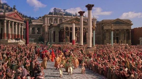 desfile triunfal romano