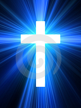 cruz luminosa