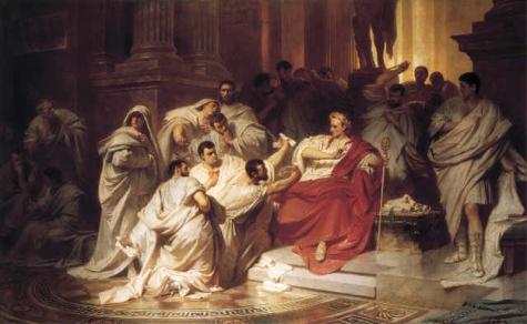 augustanos-karl_theodor_von_piloty_murder_of_caesar_1865