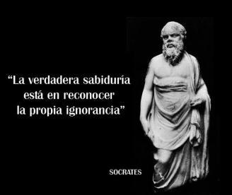 sabiduría socrates