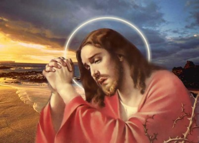 ORANDO Jesus Christ Praying Wallpapers