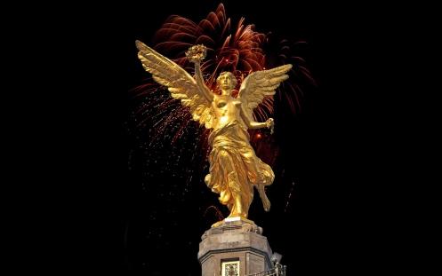 angel victoria columna de la independencia en méxico