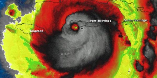 huracan matthew calavera
